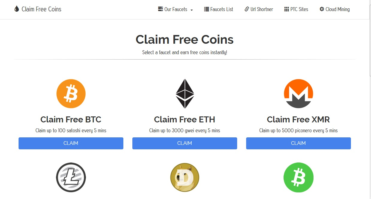 ClaimFreeCoins io Review | Home of Mark