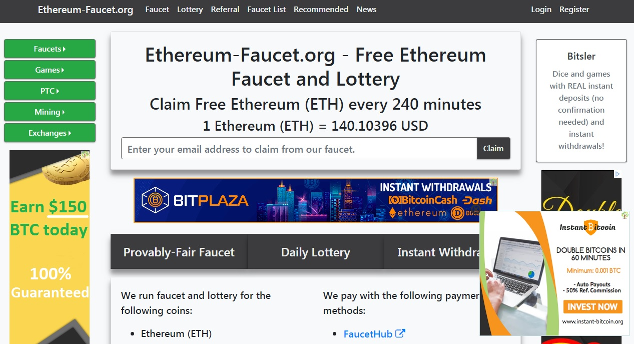 What Sites Pay In Bitcoin Ethereum Lottery